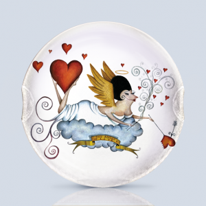 Angel of Love Serving Plate