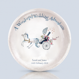 Wedding Carriage Dish