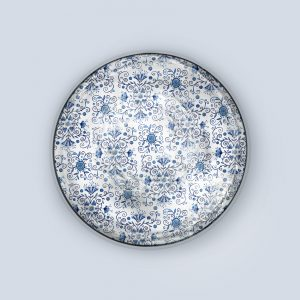 Blue Pattern Coaster
