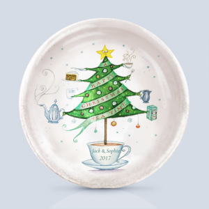 Christmas Tea Dish