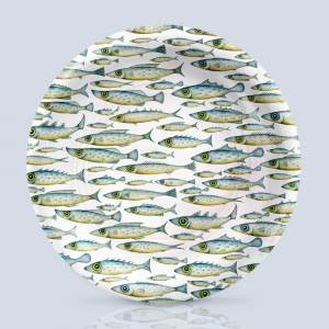 Fish Pattern Charger