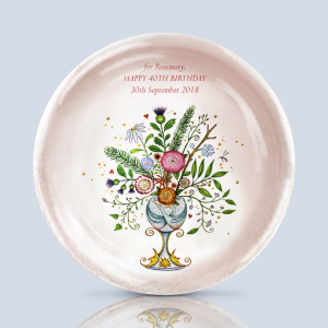 Floral Gift Dish