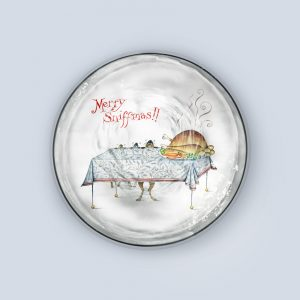 Merry Sniffmas Coaster