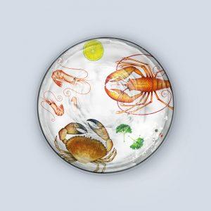 Multi Crustaceans Coaster