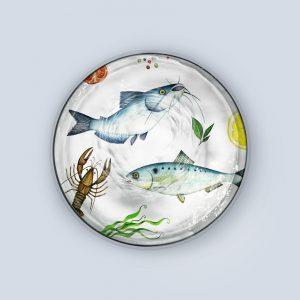 Multi Freshwater Fish Coaster