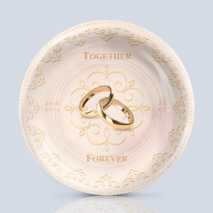 Product; Charger Plate. Name; Forever and ever. By; Recylica.