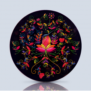 Product; Charger Plate. Name; Hummingbird. By; Recylica
