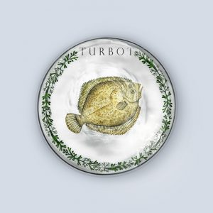 Solo Turbot Coaster