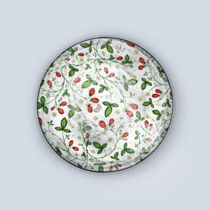 Strawberry Sprig Coaster