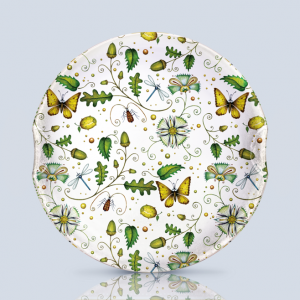 Acorns & Butterflies Serving Plate
