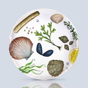 Multi Mollusks Serving Platter