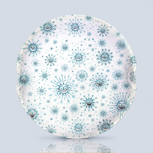 Snowflake Serving Plate