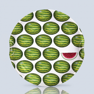 Watermelon 1 Serving Plate