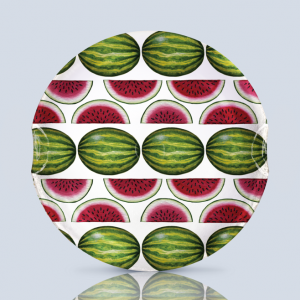 Watermelon 3 Serving Plate