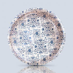 Blue Pattern Dish